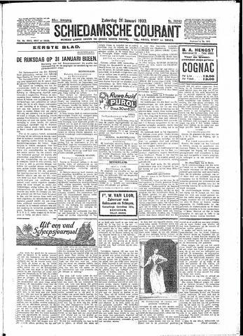 Schiedamsche Courant 1933-01-21