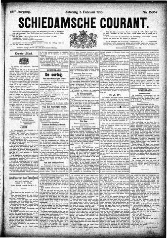 Schiedamsche Courant 1916-02-05