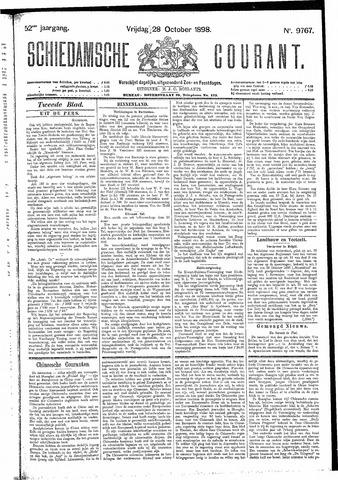Schiedamsche Courant 1898-10-28