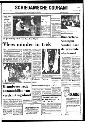 Rotterdamsch Nieuwsblad / Schiedamsche Courant / Rotterdams Dagblad / Waterweg / Algemeen Dagblad 1974-12-20