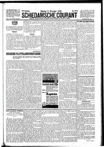 Schiedamsche Courant 1929-12-17