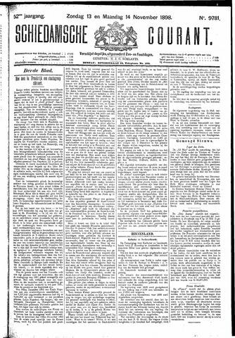 Schiedamsche Courant 1898-11-14