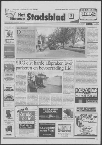 Het Nieuwe Stadsblad 2001-03-01