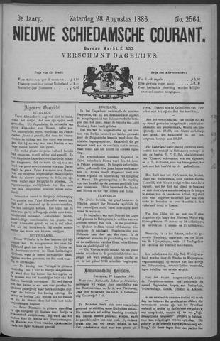 Nieuwe Schiedamsche Courant 1886-08-28
