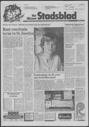 Het Nieuwe Stadsblad 1987-08-19