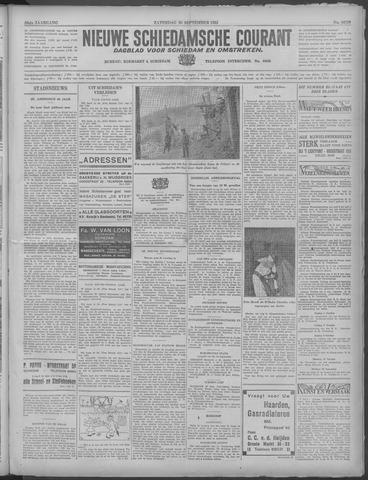 Nieuwe Schiedamsche Courant 1933-09-30