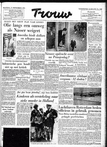 Trouw / De Rotterdammer 1956-09-17