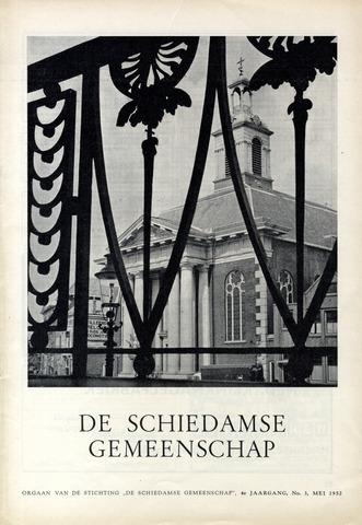Schiedamse Gemeenschap (tijdschrift) 1952-05-01