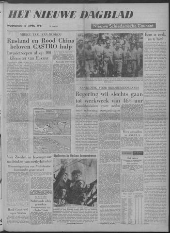 Nieuwe Schiedamsche Courant 1961-04-19