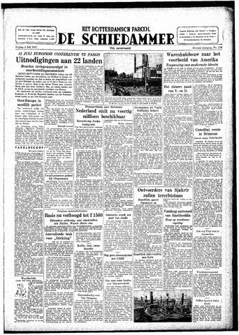 Rotterdamsch Parool / De Schiedammer 1947-07-04