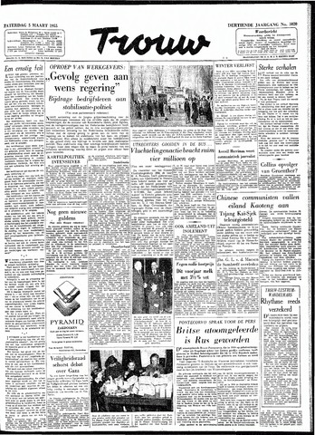 Trouw / De Rotterdammer 1955-03-05