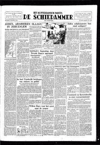 Rotterdamsch Parool / De Schiedammer 1947-12-03