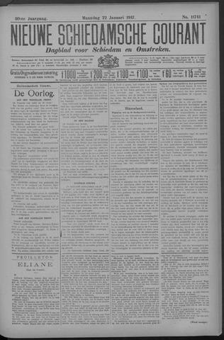 Nieuwe Schiedamsche Courant 1917-01-22