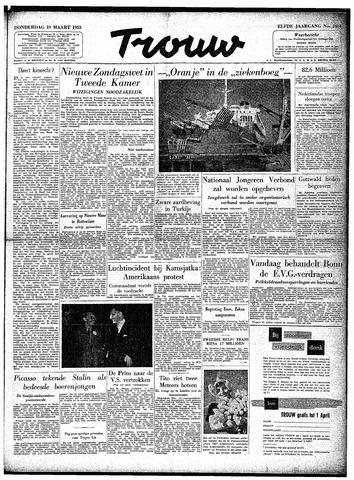 Trouw / De Rotterdammer 1953-03-19