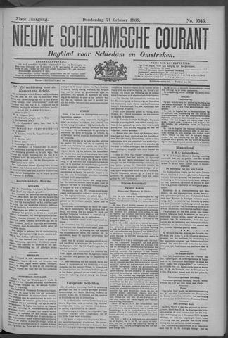 Nieuwe Schiedamsche Courant 1909-10-21
