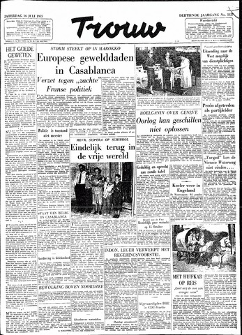 Trouw / De Rotterdammer 1955-07-16