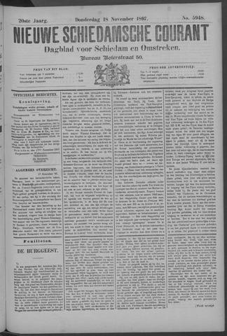 Nieuwe Schiedamsche Courant 1897-11-18