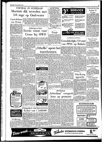 Rotterdamsch Parool / De Schiedammer 1961-09-18