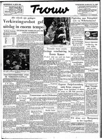 Trouw / De Rotterdammer 1956-06-14