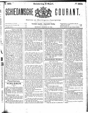 Schiedamsche Courant 1883-03-08