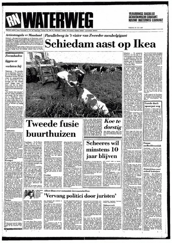 Rotterdamsch Nieuwsblad / Schiedamsche Courant / Rotterdams Dagblad / Waterweg / Algemeen Dagblad 1987-07-31
