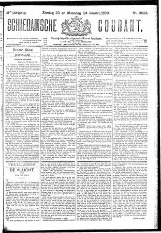 Schiedamsche Courant 1898-01-24