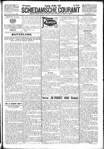 Schiedamsche Courant 1927-05-13