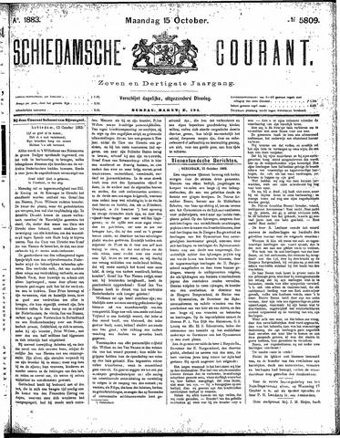 Schiedamsche Courant 1883-10-15