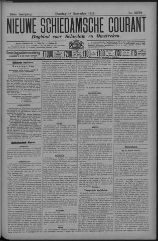 Nieuwe Schiedamsche Courant 1913-11-18