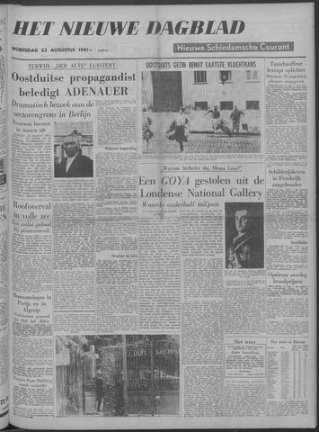 Nieuwe Schiedamsche Courant 1961-08-23