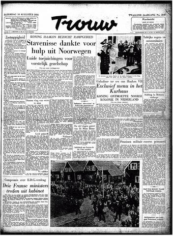 Trouw / De Rotterdammer 1954-08-14