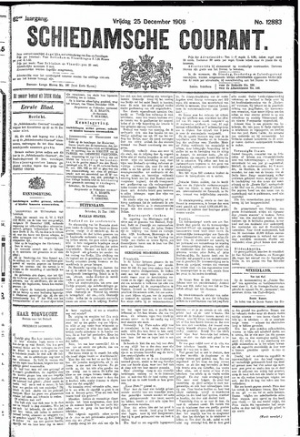 Schiedamsche Courant 1908-12-25