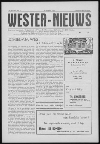 Wester Nieuws 1960-12-08