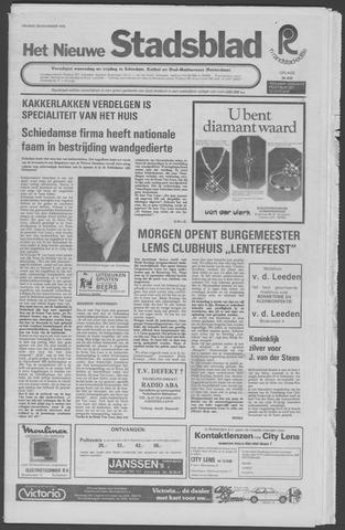 Het Nieuwe Stadsblad 1976-11-26