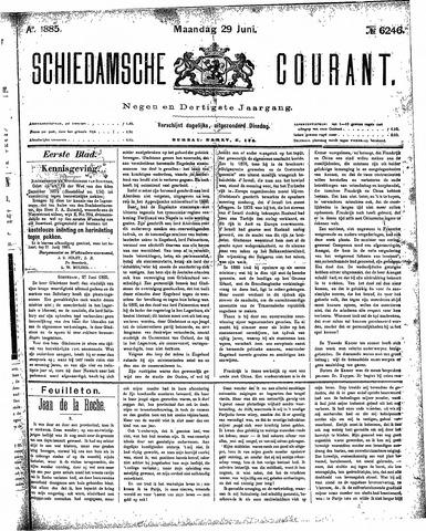 Schiedamsche Courant 1885-06-29