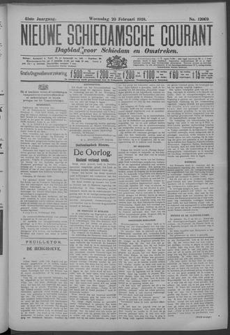 Nieuwe Schiedamsche Courant 1918-02-20