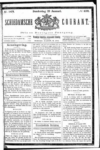 Schiedamsche Courant 1879-01-23