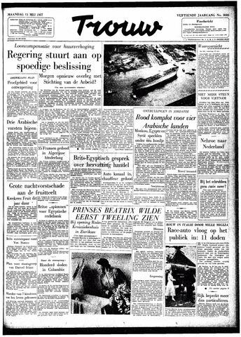 Trouw / De Rotterdammer 1957-05-13