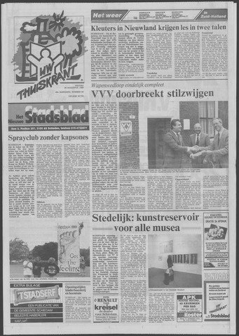 Het Nieuwe Stadsblad 1988-08-26