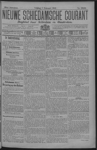 Nieuwe Schiedamsche Courant 1913-02-07