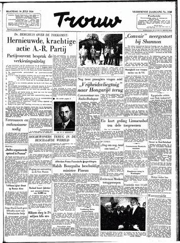Trouw / De Rotterdammer 1956-07-16