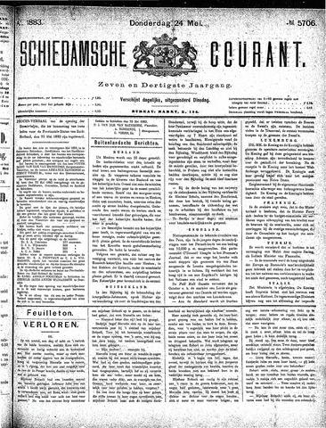 Schiedamsche Courant 1883-05-24