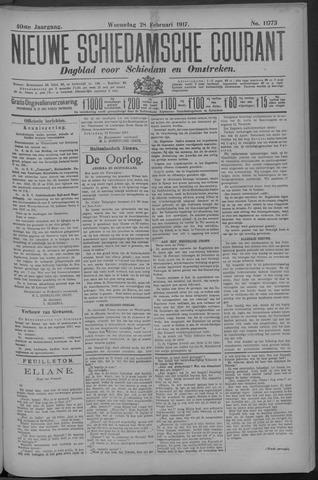 Nieuwe Schiedamsche Courant 1917-02-28