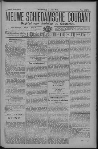 Nieuwe Schiedamsche Courant 1913-07-17