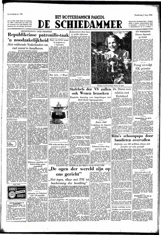 Rotterdamsch Parool / De Schiedammer 1949-08-04