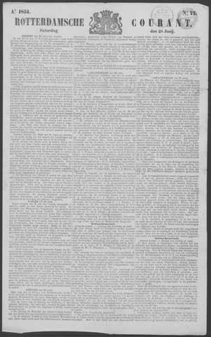Rotterdamse Courant 1851-06-28