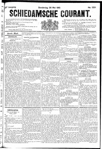 Schiedamsche Courant 1910-05-26