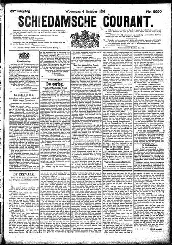 Schiedamsche Courant 1916-10-04