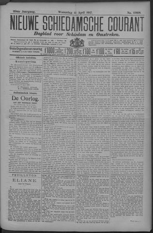 Nieuwe Schiedamsche Courant 1917-04-11