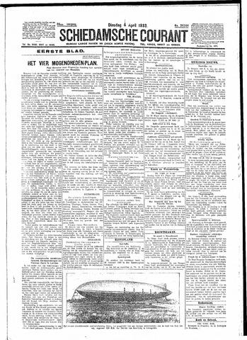 Schiedamsche Courant 1933-04-04